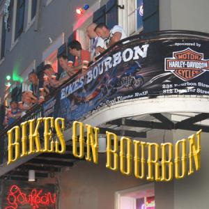 bourbon cowboy's bikes on bourbon