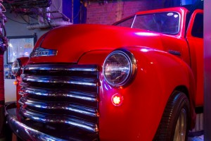 Chevy Truck DJ Both at Bourbon Cowboy New Orleans
