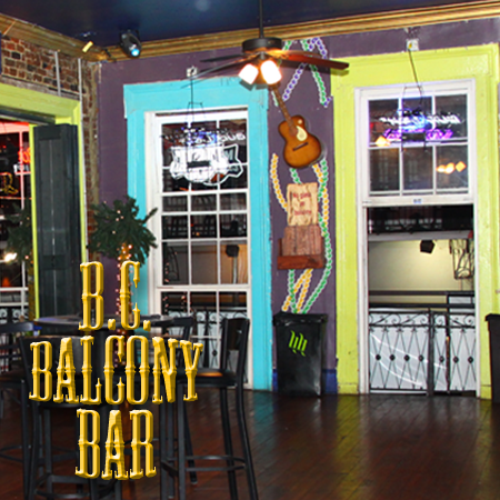 Bourbon street balcony rentals bourbon cowboybourbon cowboy for Balcony restaurant group