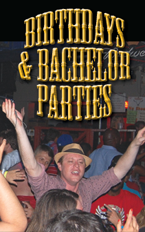 birthdays and bachelor parties at bourbon cowboy
