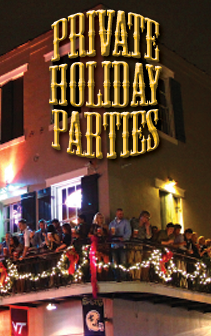 private holiday events at bourbon cowboy