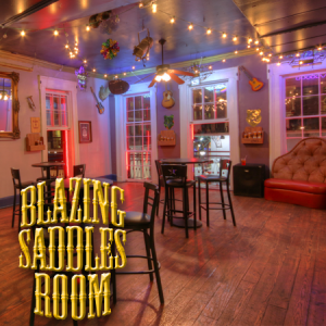 blazing saddles room at bourbon cowboy new orleans