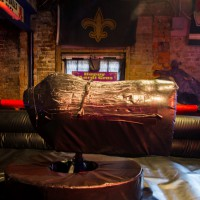 The mechanical bull at bourbon cowboy New Orleans